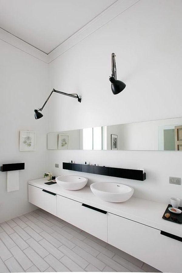 Lampen für das badezimmer  243 best Badezimmer images on Pinterest | She is, Bathroom ideas ...