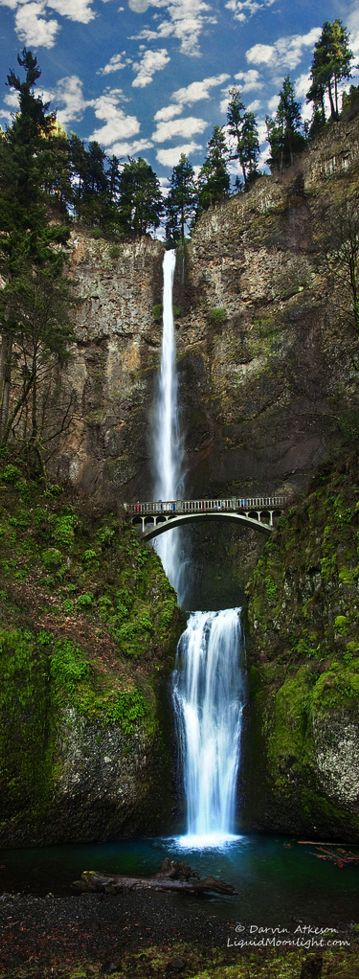 Multnomah Falls, Oregon, USA                                                                                                                                                     More