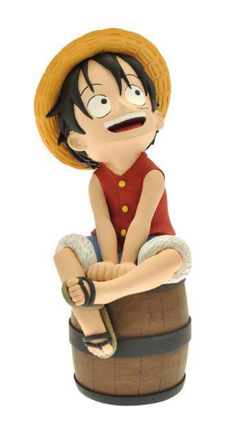 Hucha One Piece. Luffy, 17cm Estupenda hucha para guardar tus ahorros, con tu personaje principal del manga y anime One Pice, con Luffy.