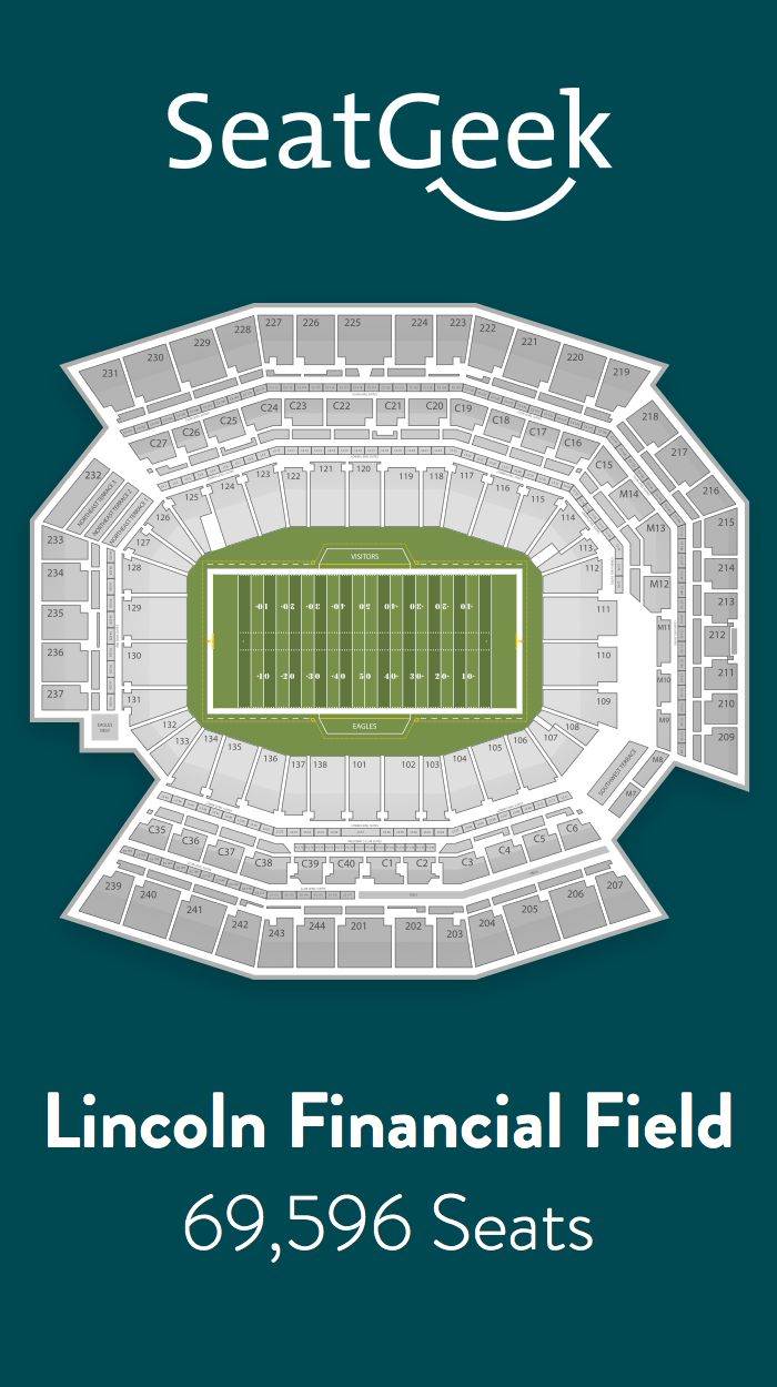 Find the best deals on Philadelphia Eagles tickets and know exactly where you'll sit with SeatGeek.