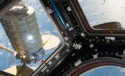 ISS crew bid early farewell to OA-7 Cygnus, the S.S. John Glenn
