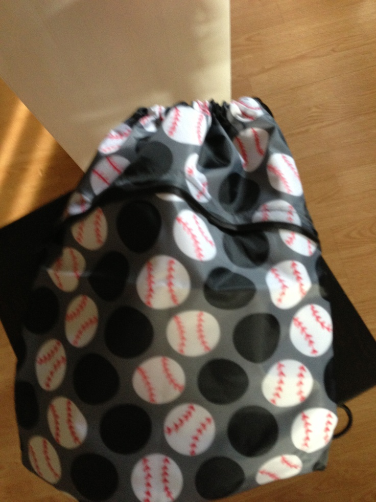 Thirty One bag redo for baseball season! All you need is a red sharpie