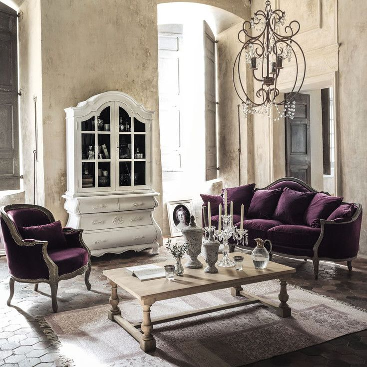 meubles et d coration de style romantique et cosy maisons du monde maison de famille. Black Bedroom Furniture Sets. Home Design Ideas