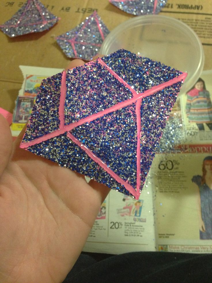 Door Decs. Shine Bright like a Diamond. #SIUC #BowyerHall