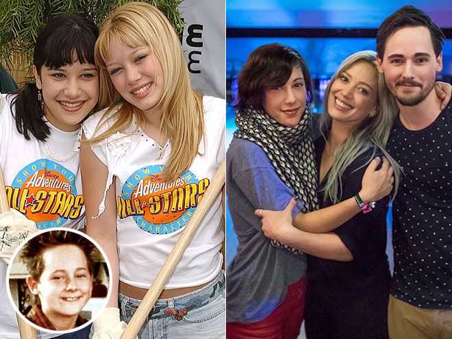 THE CAST OF LIZZIE MCGUIRE