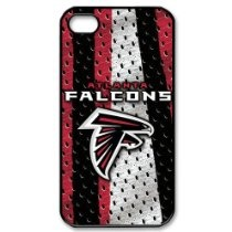 iPhone 4/4s Covers Atlanta Falcons logo hard case made of PC plastic - $13.99