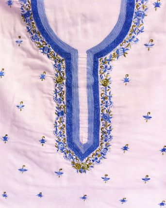what is chikan stitch embroidery - Google Search