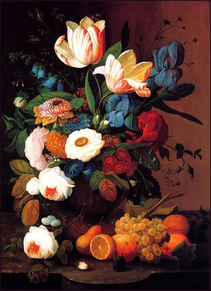 favorite still life: still life flowers and fruit by ...