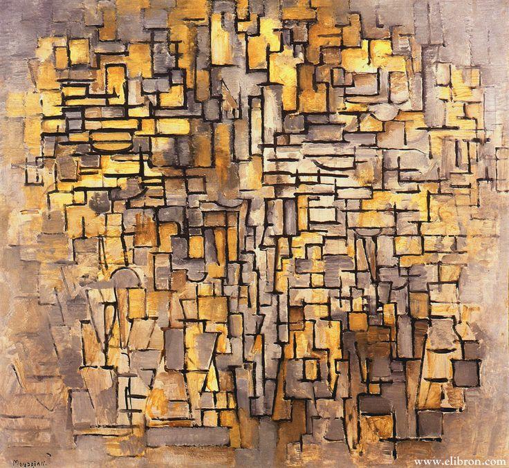 Piet Mondrian Composition Vii