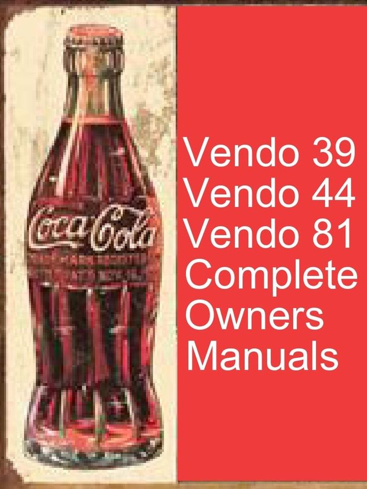 pepsi machine manual
