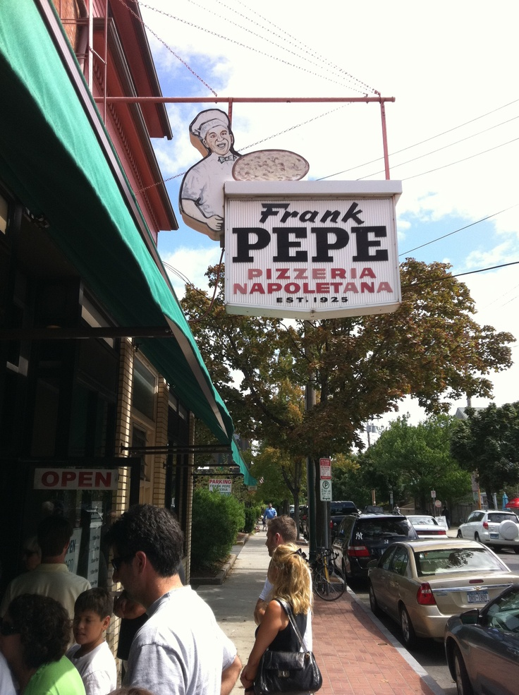Pepe's Pizza, New Haven Probably rated in the top 10 pizza joints in the USA