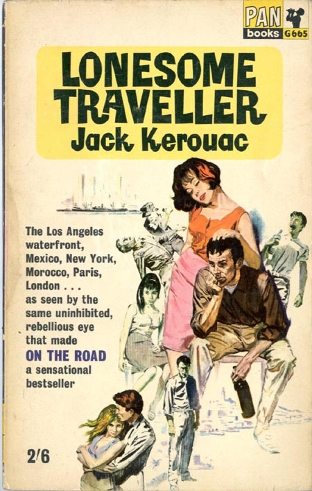 The Lonesome Traveller by Jack Kerouac #book #cover