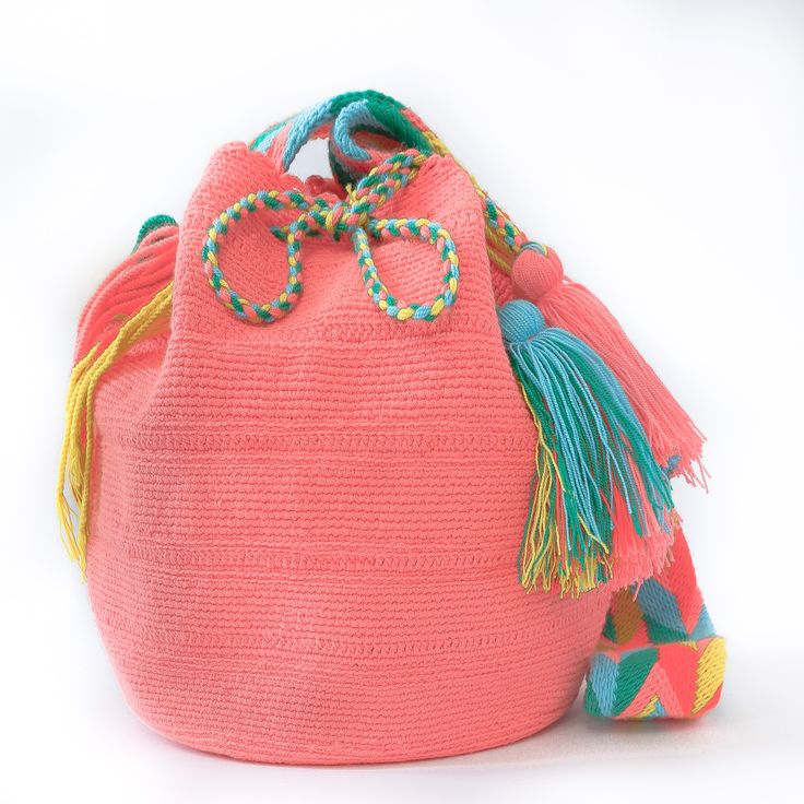 100% Handmade Wayuu Mochila Bags take approximately 14 or more days to complete…