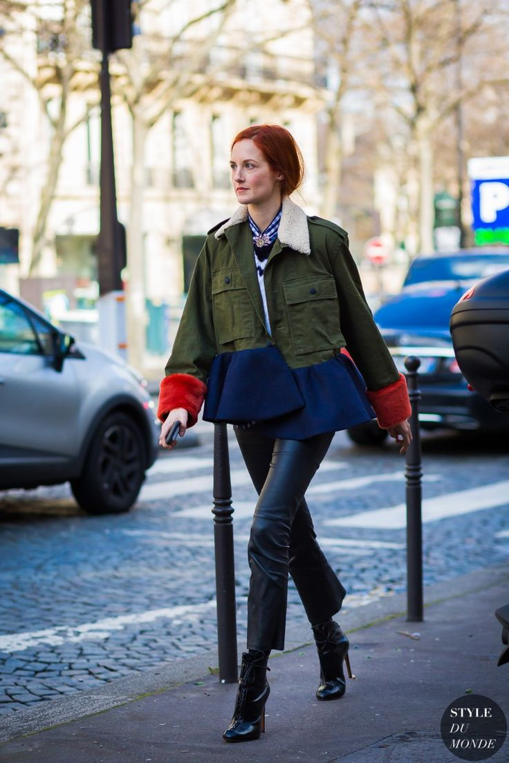 Paris Fashion Week FW 2016 Street Style: Taylor Tomasi Hill
