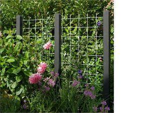 PLUS A / S - Garten-Design Spalier ohne Pfosten 25€ Schwarz oder Rost