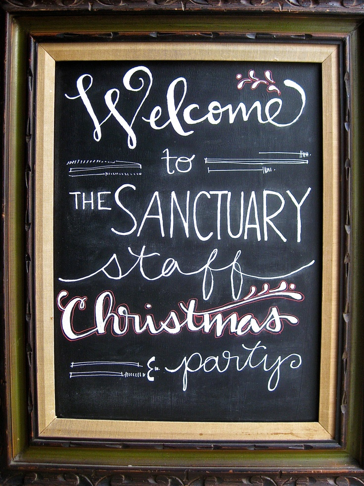 Chalkboard sign wedding or party sign