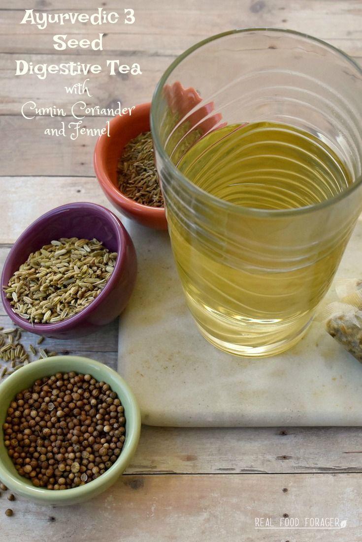 ayurvedic 3 seed digestive tea – cumin, coriander, fennel