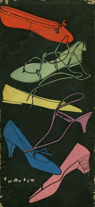 capezio shoe #poster #vintage #graphics