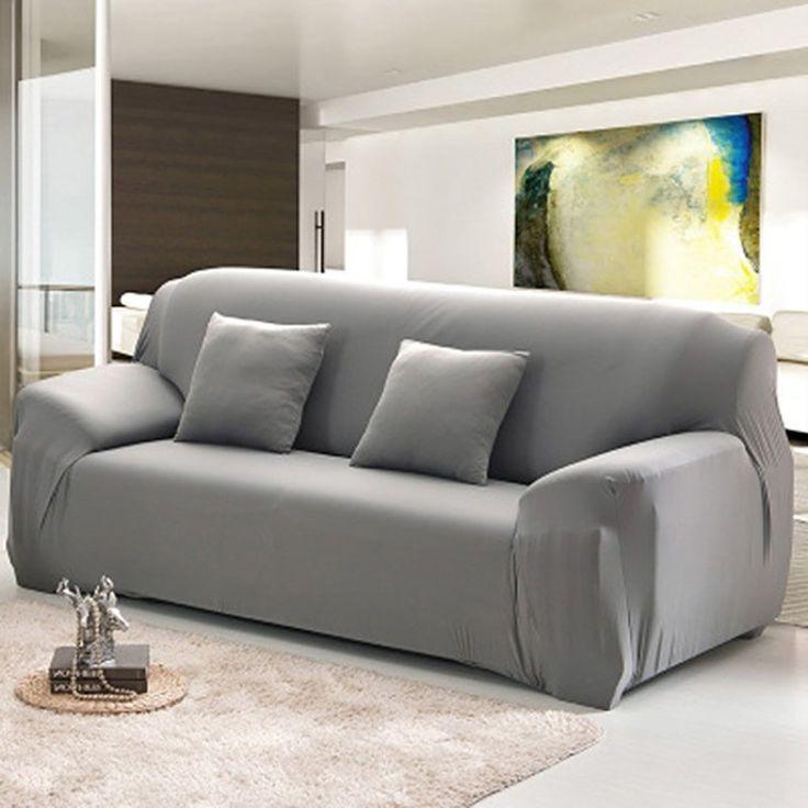 เล็งเห็นมาตรฐาน<SP>Loveseat Arm Chair Seater Stretch Sofa Couch Lounge Protect Slip Cover Slipcover - intl++Loveseat Arm Chair Seater Stretch Sofa Couch Lounge Protect Slip Cover Slipcover - intl Elegant, luxury & quality micro suede slipcovers Protect your furniture / couch from stains ,pet hair &  ...++