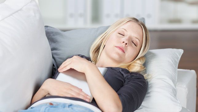 Naps perk up your memory and alertness, and a little bit of shut-eye can also improve your mood. Sounds good to me!