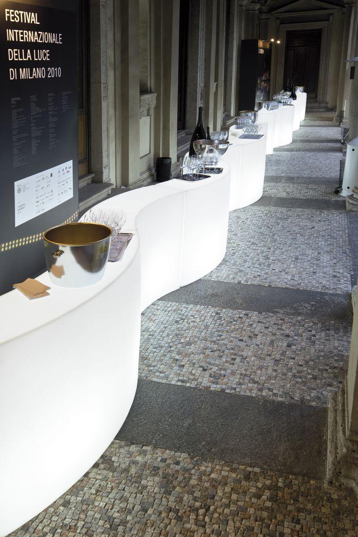 SNACK BAR counter, design by SLIDE Studio