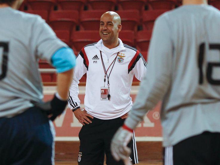 Pedro Nunes é o Melhor Treinador do ano pela segunda vez consecutiva - Hóquei em Patins - SL Benfica