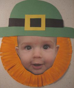 Cute crafts for the kids! Turn your munchkin into leprechaun with this St. Patrick's Day!