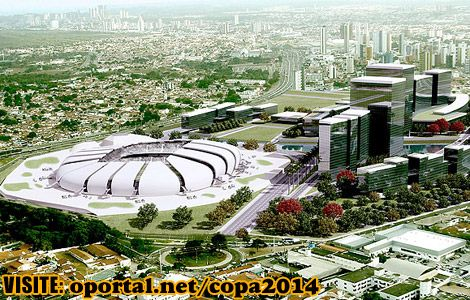 Stadiums for the 2014 World Cup in Brazil - Arena das Dunas – Natal/RN