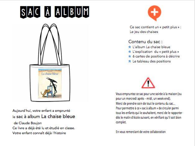 - La chaise bleue sac à album.odp  - La chaise bleue sac à album.pdf