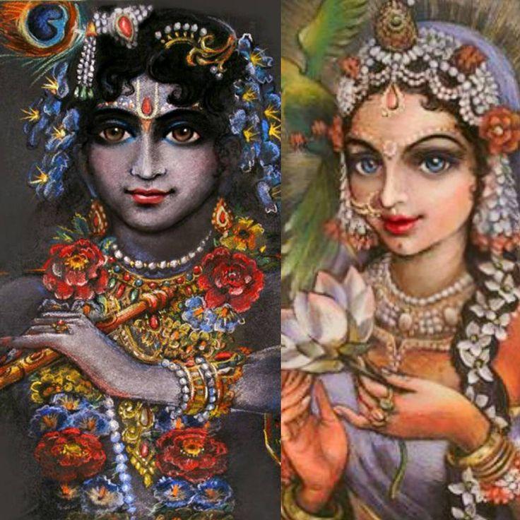 #Blissful divine love !
