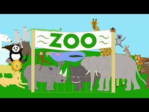 A song for children about some of the animals that you can see at the zoo.  This song was written and performed by A.J. Jenkins  Video by KidsTV123  Copyright 2012 A.J. Jenkins/KidsTV123: All rights reserved.  For free MP3s, worksheets and much more:  http://www.kidstv123.com    Kids songs song for children