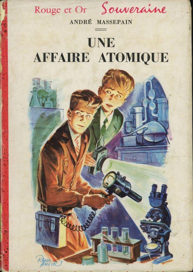 Raoul Auger - André Massepain Rouge et Or Souveraine 1961