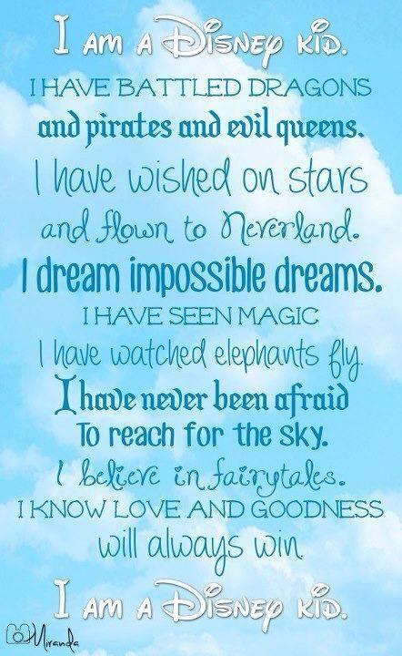 I am a Disney Kid