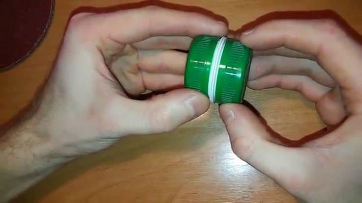 Что можно сделать из крышек от пластиковой бутылки ВАРИАНТ №2