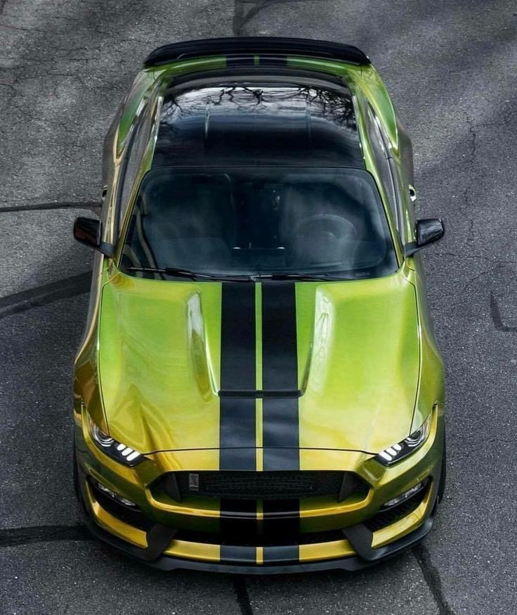 Bad-ass Ford Mustang Shelby GT350