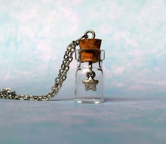 To Catch a Falling Star necklace