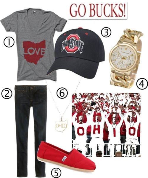 Football game attire - not cheering for OSU though