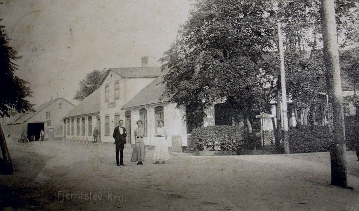 Fjerritslev Kro ca. 1920