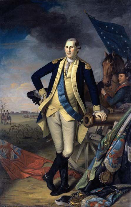 Interactive Portrait of George Washington (1799)