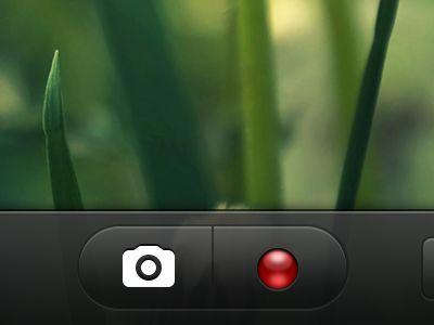camera video button