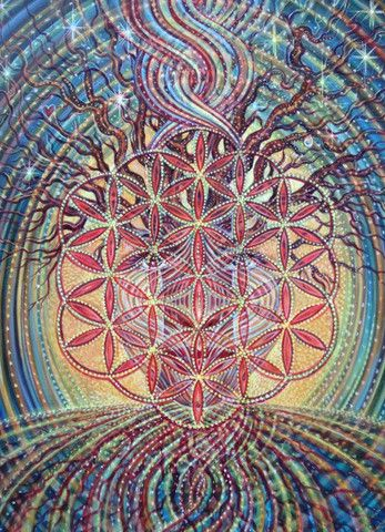 Flower of Life by Amanda Sage