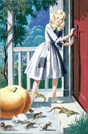 Cinderella -- Cinderella returns -- High quality art prints, framed prints, canvases -- Ladybird Prints