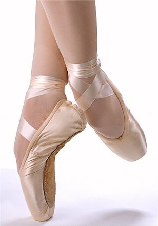 Ballet Dancer Pointe Shoes - Learn to dance at BalletForAdults.com!