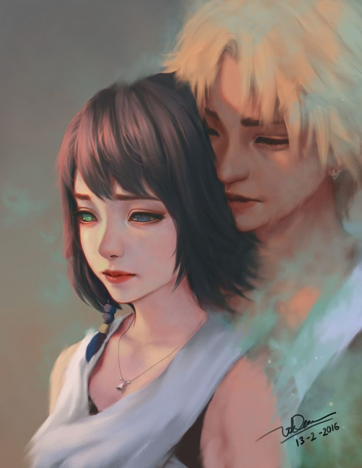ArtStation - final fantasy X fanart, Yuna and Tidus