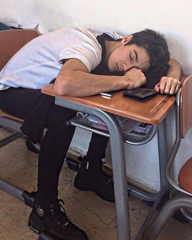 Lol... when he was sleeping...❤️❤️❤️