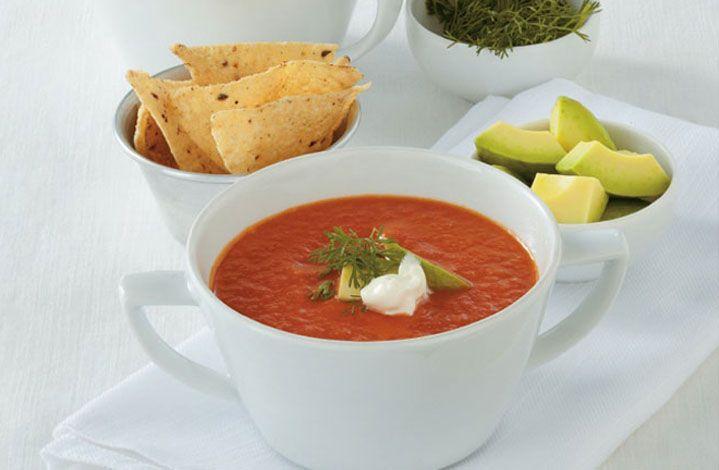 Sorprende a los que más quieres con esta sopa mexicana y el toque secreto que le da CREMA DE LECHE ®  #Crema de Leche #NESTLÉ