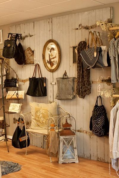 Pared bolsos