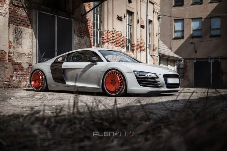 FLGNTLT Audi R8 on Messer ME03-3 Turbo-Fan Wheels