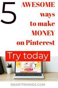 5 Awesome ways to Make money on Pinterest (2019