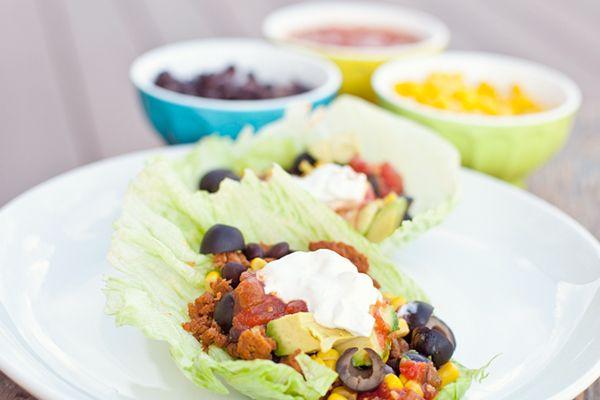 Dinners Under $10: Turkey Lettuce Wrap Tacos | Tacos, Taco ...